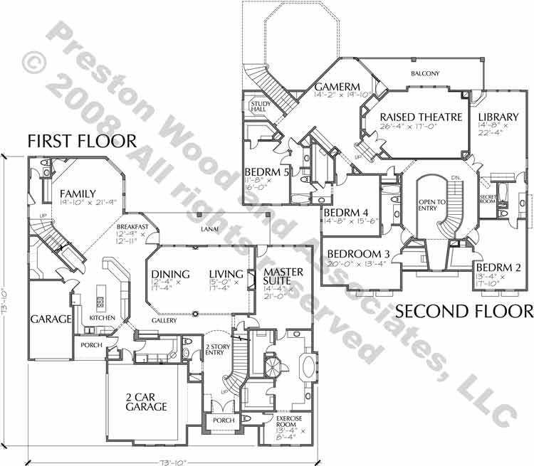 Two Story Home Plan C5340