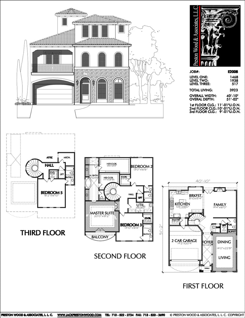 Urban House Plan E2008