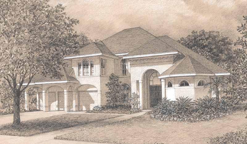 Two Story Home Plan D0118