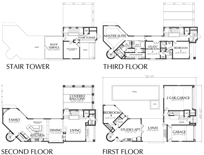 Urban House Plan E0187