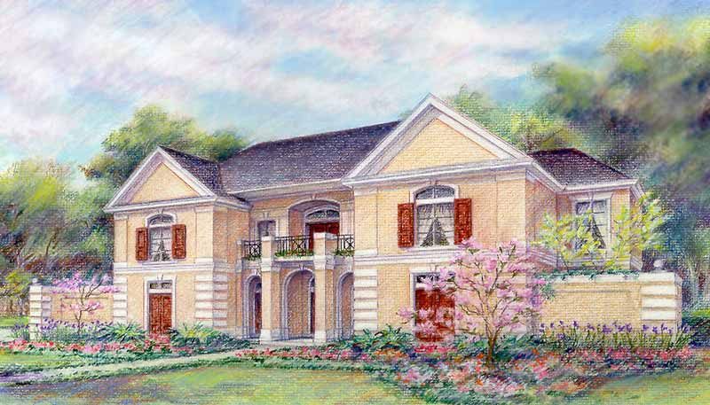 Award Winning Home Plan C4169