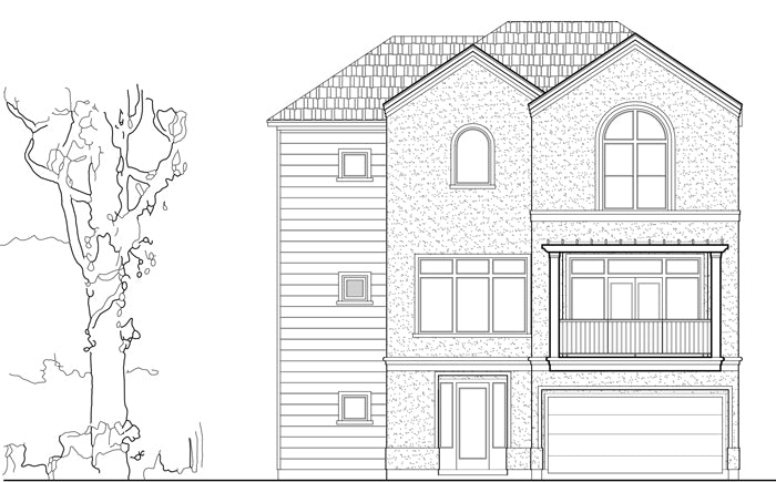 Townhouse Plan D8050 Lot 3