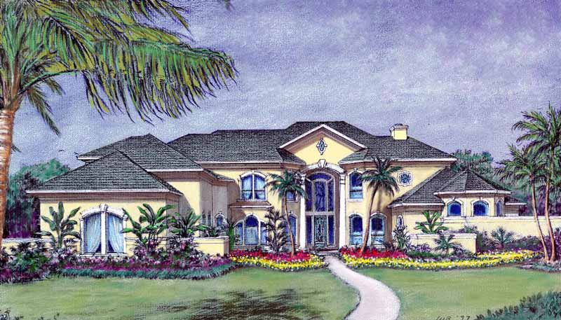 Two Story House Plan D0263