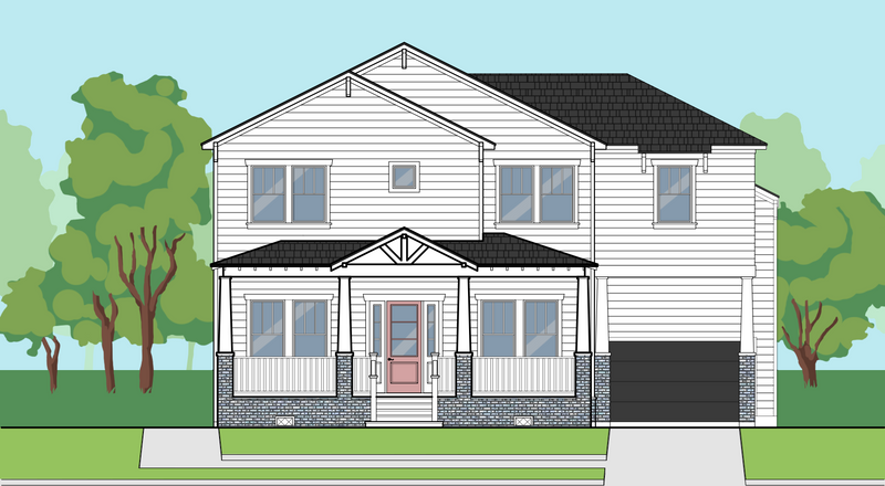 Two Story Home Plan E1205