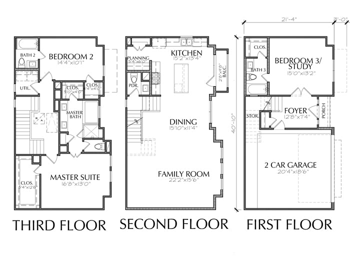 Townhouse Plan E2230 B1.2