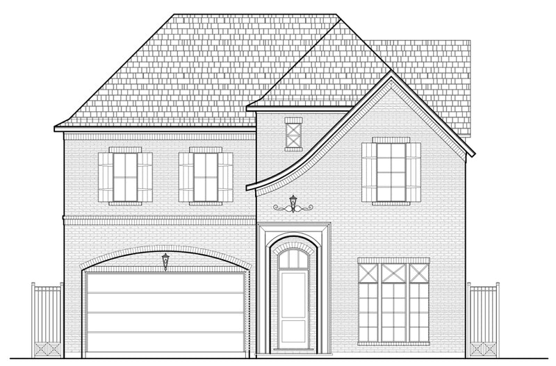 Two Story House Plan E2260