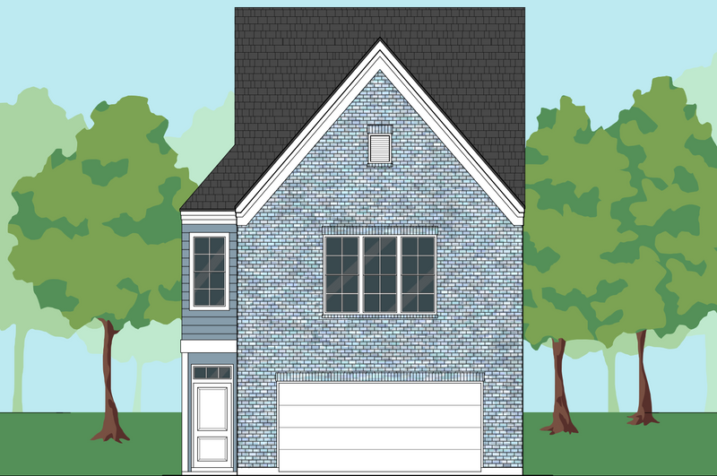 Two Story Home Plan E5158