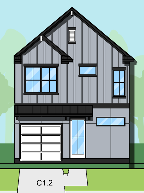 Two Story Home Plan E8005 C1.1