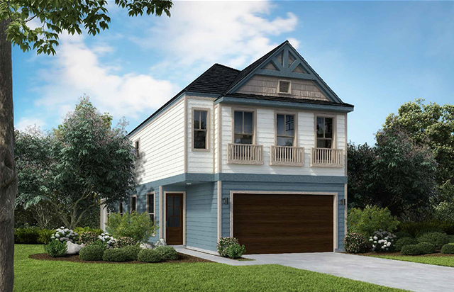 Two Story Home Plan E8082 C 1.1