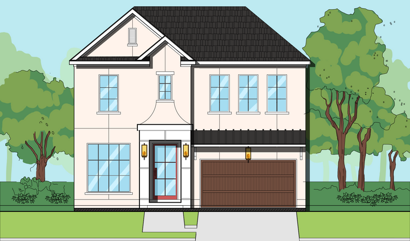 Two Story Home Plan E8219