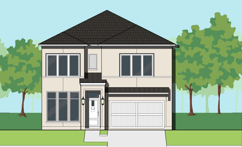 Two Story Home Plan E9088