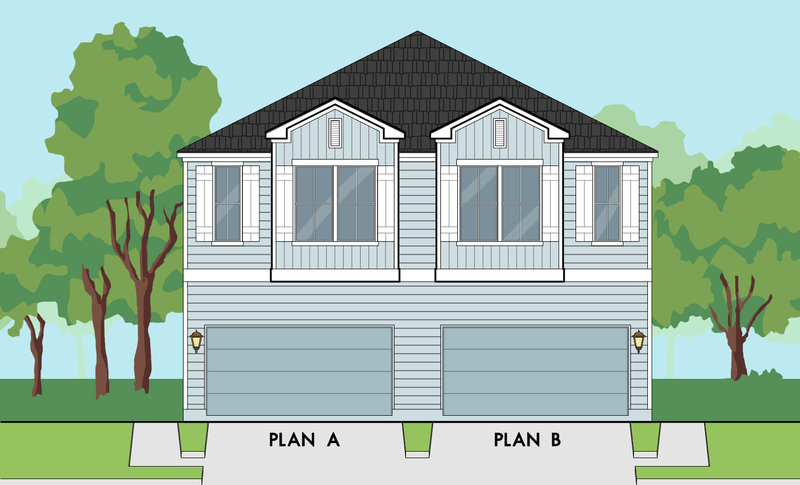 Two Story Home Plan E9249