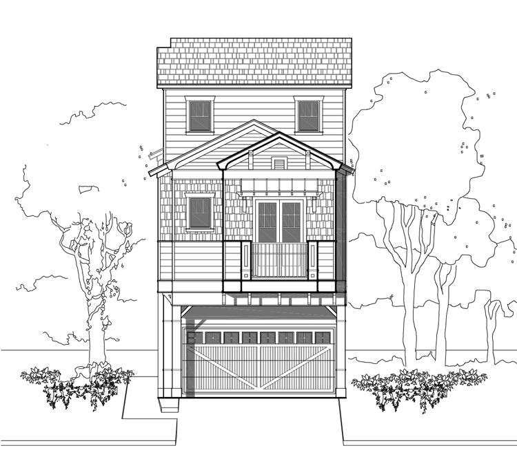 Townhouse Plan E2176 A1.1