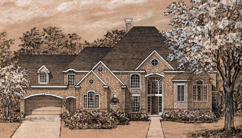 Two Story Home Plan C4161