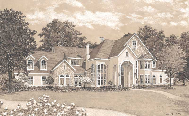 Two Story Home Plan D1008