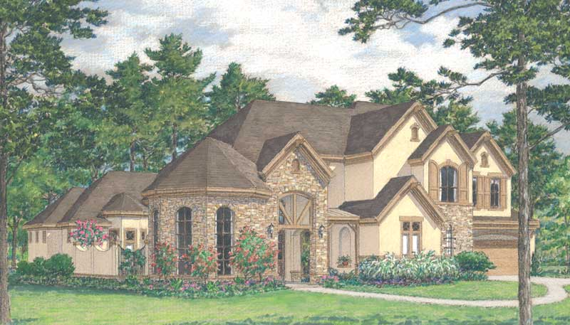 Two Story Home Plan D3202
