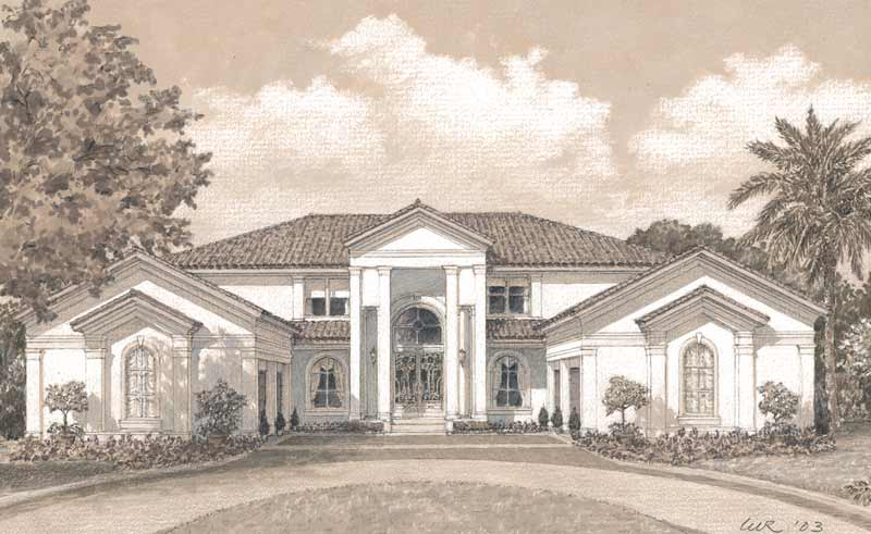 Two Story Home Plan D1156