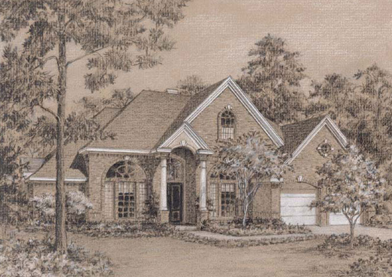 One Story Home Plan C5226