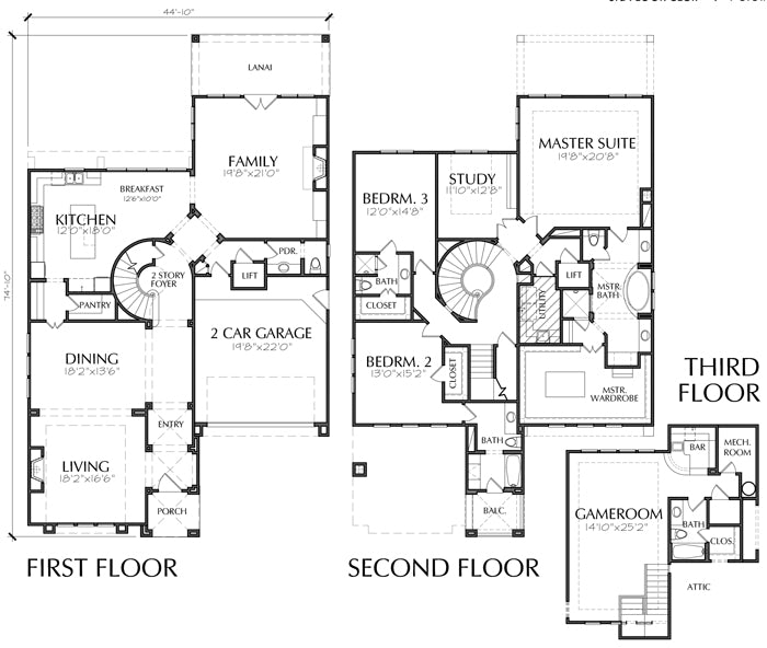 Urban House Plan D5123