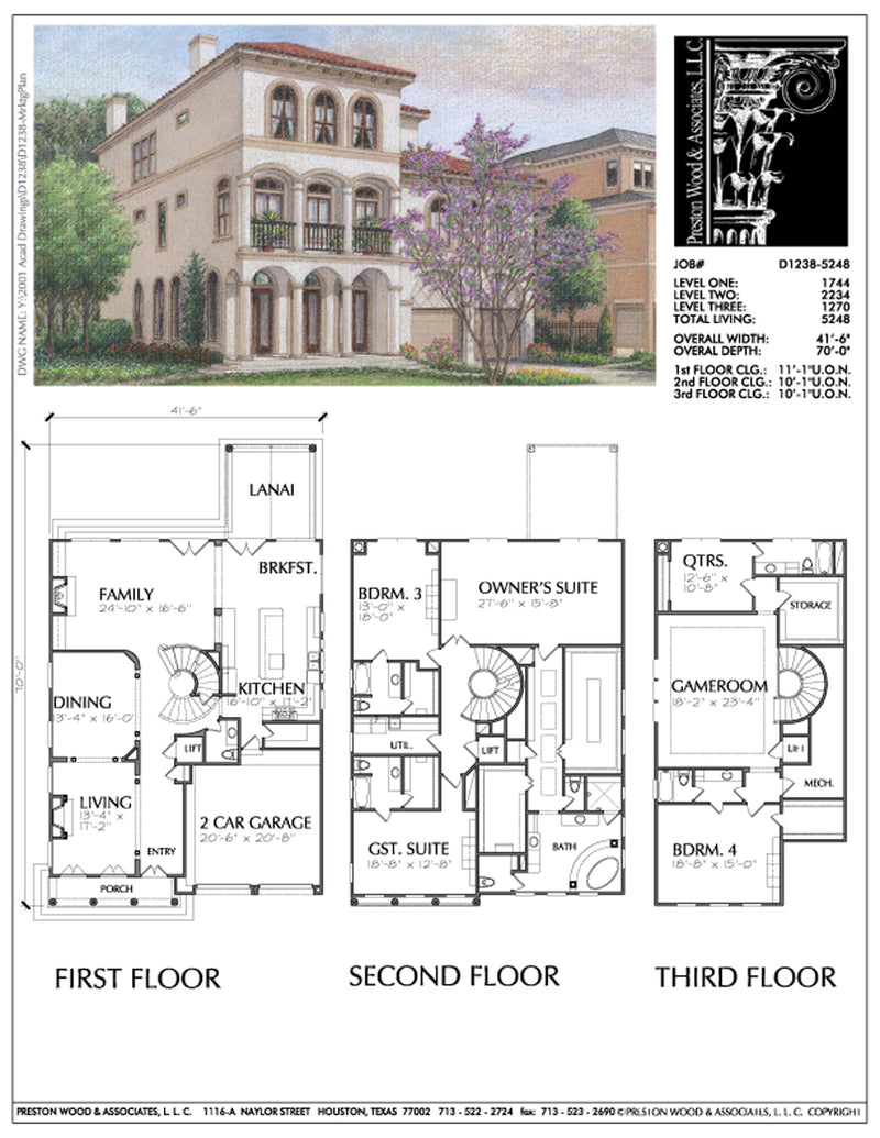 Urban Home Plan D1238