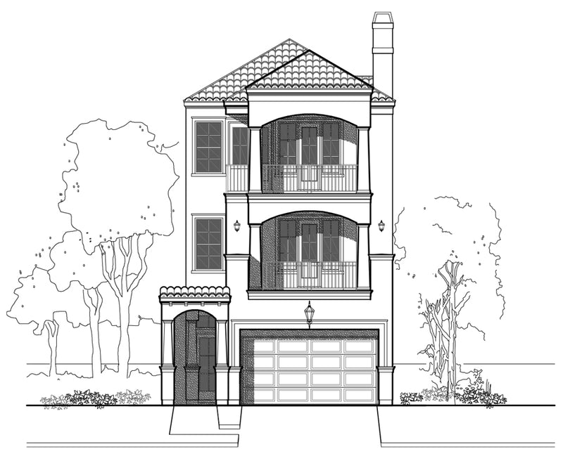 Townhouse Plan E2061 A1.2