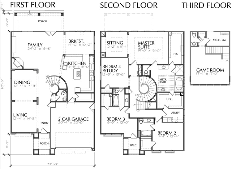 Urban House Plan D5119