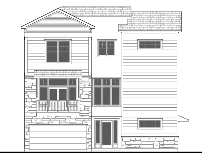 Townhouse Plan E0036 B