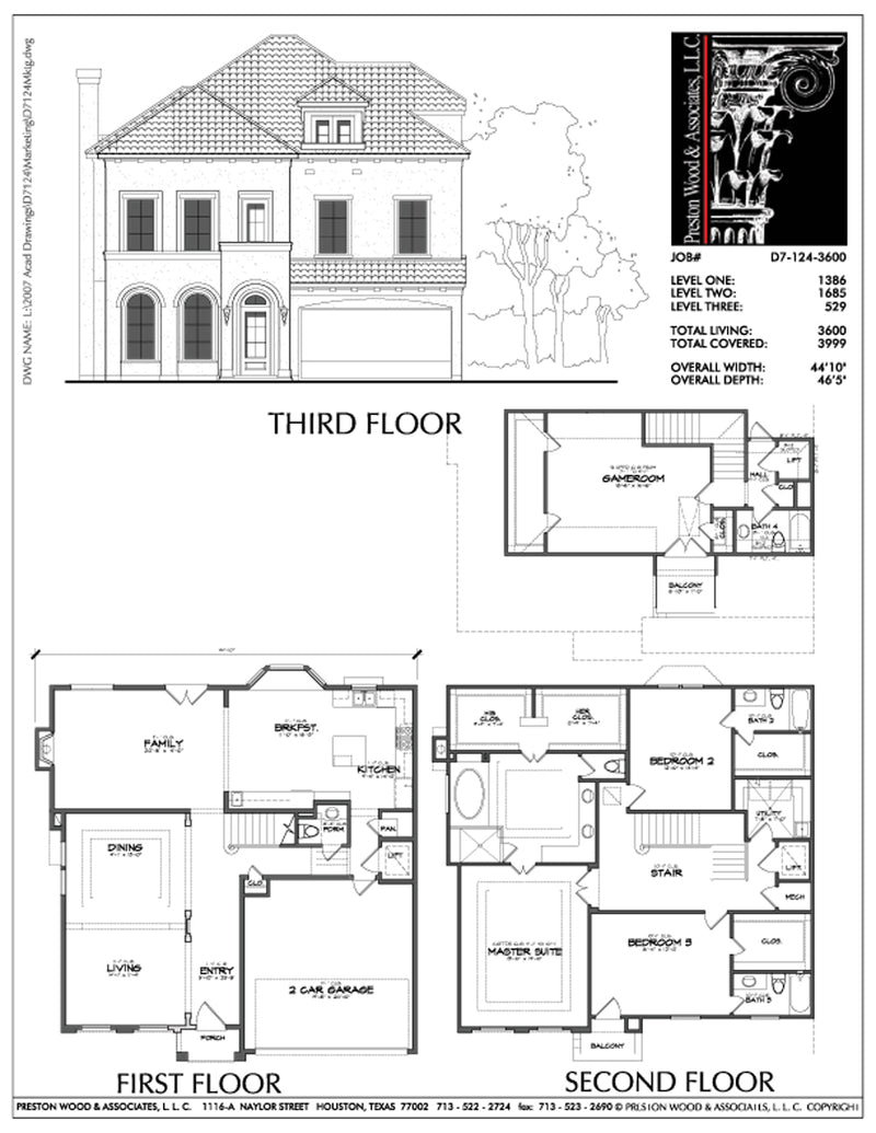Urban House Plan D7124