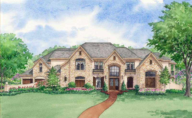 Two Story Home Plan D2176