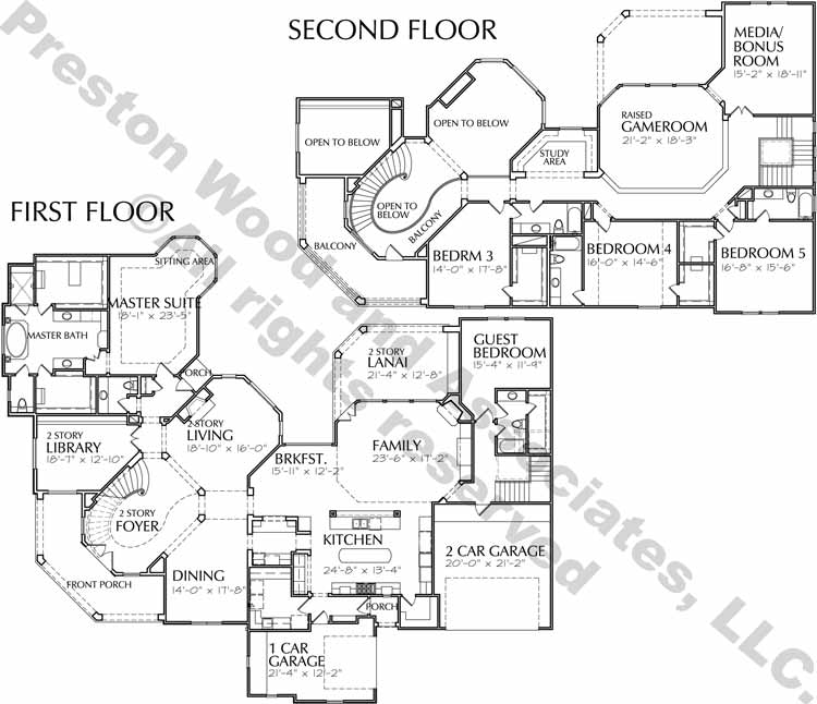 Two Story Home Plan D3183