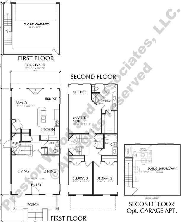 Patio Home Plan C9062