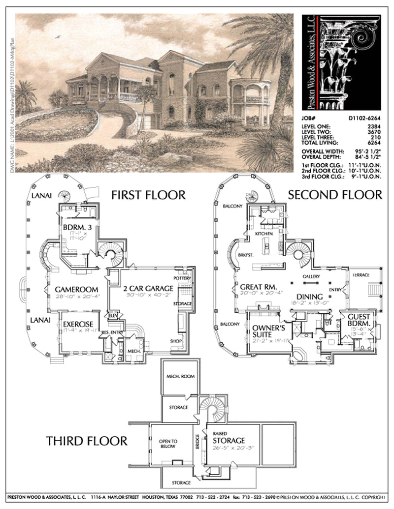 Two Story Home Plan aD1102