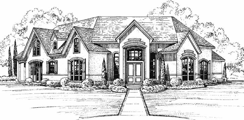 Two Story Home Plan C5235