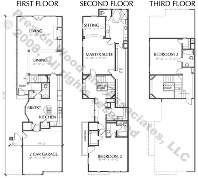 Modern Townhouse Design, Row House, New Town Home ...