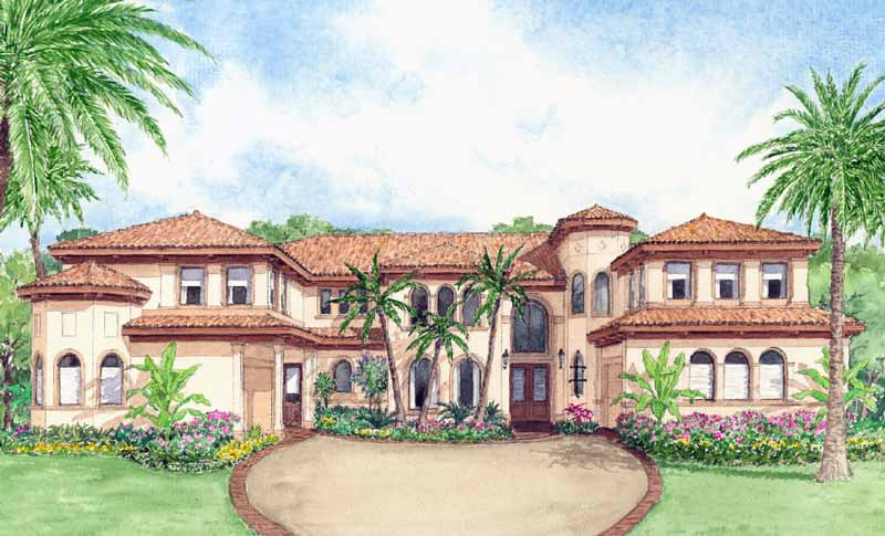 Two Story Home Plan D4305
