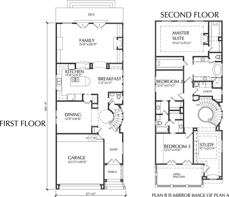 Two Story Narrow Home Plan D4141 on 4 bedroom single story house plans, narrow home floor plans, one story historic house plans, one story southern house plans, one story ranch style house plans, contemporary narrow lot floor plans, 1.5 story house plans, one story european house plans, one story home design ideas, one story wooden house, small lot house plans, one story garage plans, one story cape cod house plans, best one story house plans, one story spanish house plans, one story contemporary house plans, one story mediterranean house plans, open shotgun style house plans, one story simple house plans, one story small house plans,