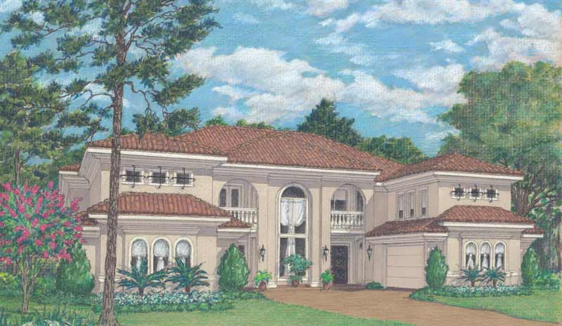 Two Story Home Plan D4306