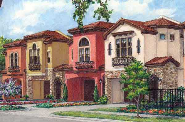 Townhouse Plan D7005 2B