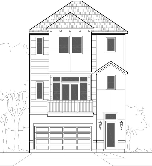 Townhouse Plan E0170 B
