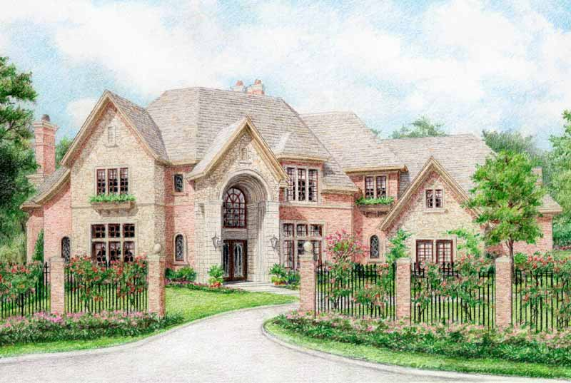 Two Story Home Plan aC9230
