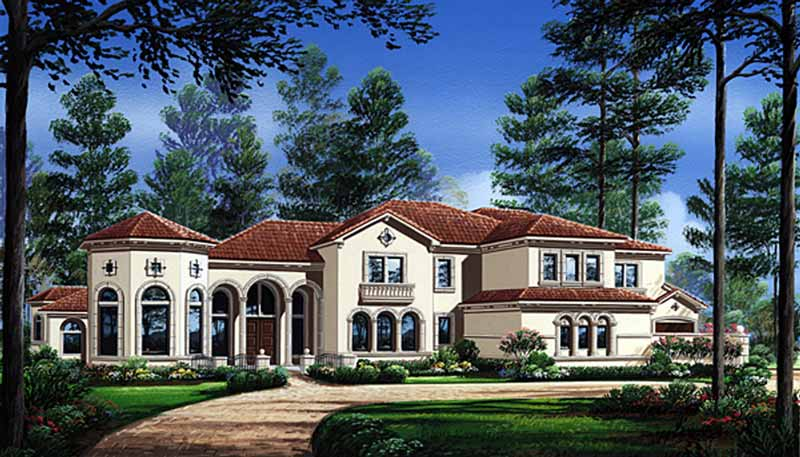 Two Story House Plan D4184