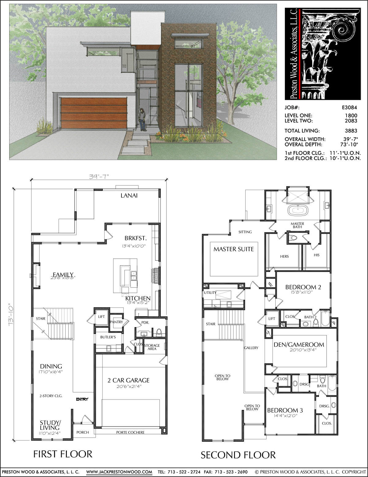 Unique Two Story House Plans, Floor Plans for Luxury Two ...