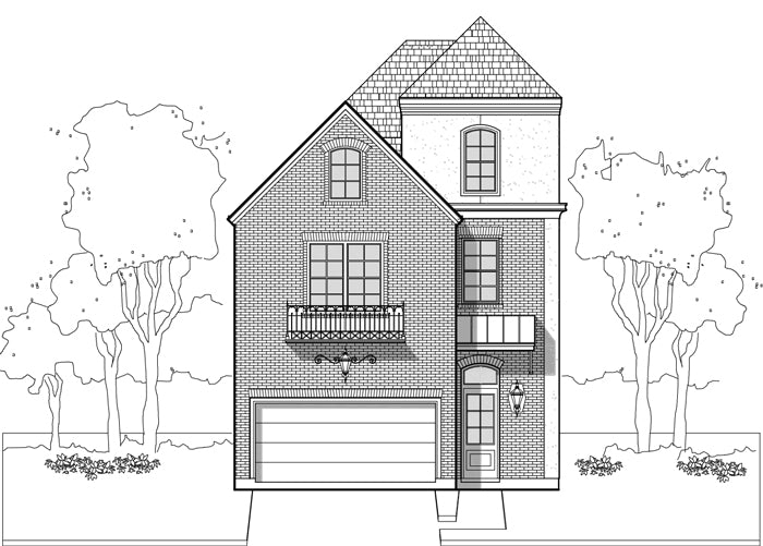 Townhouse Plan E1036 A2.2
