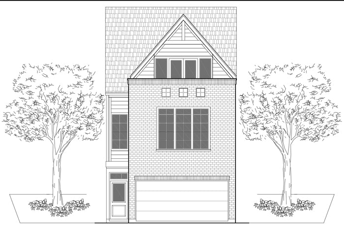 Townhouse Plan E6134 A1.1