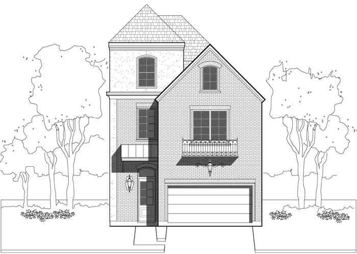 Townhouse Plan E1155 A2.2