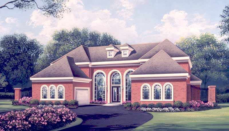 Two Story Home Plan C6220