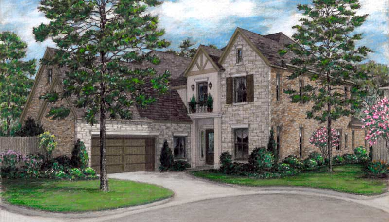 Patio Home Plan aD6163 J
