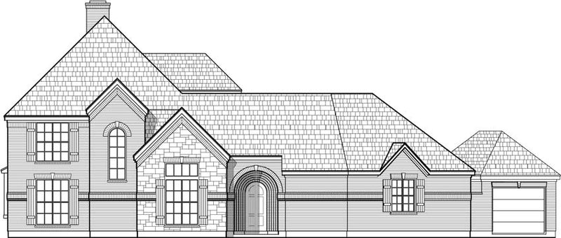 Two Story House Plan C6283