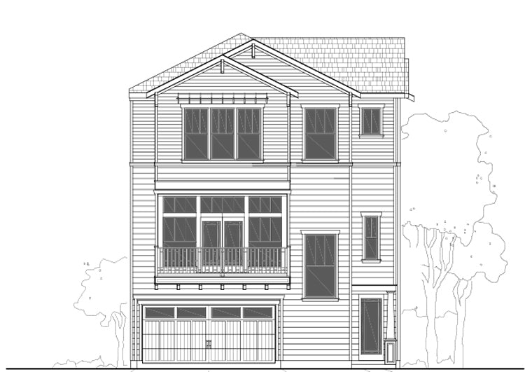 Townhouse Plan E2104 A1.1