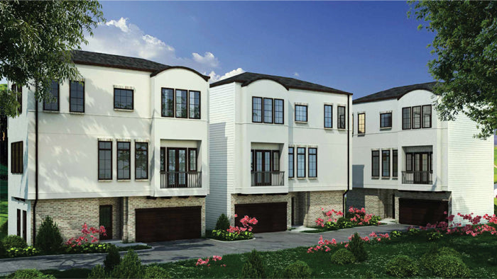 Townhouse Plan E4063 A1.1